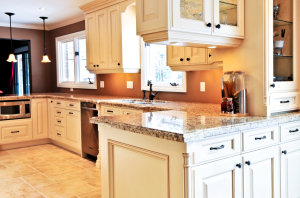 Kitchen interior Stone Cleaning
