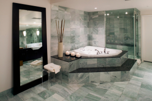 washroom marble floor apartment Stone Cleaning